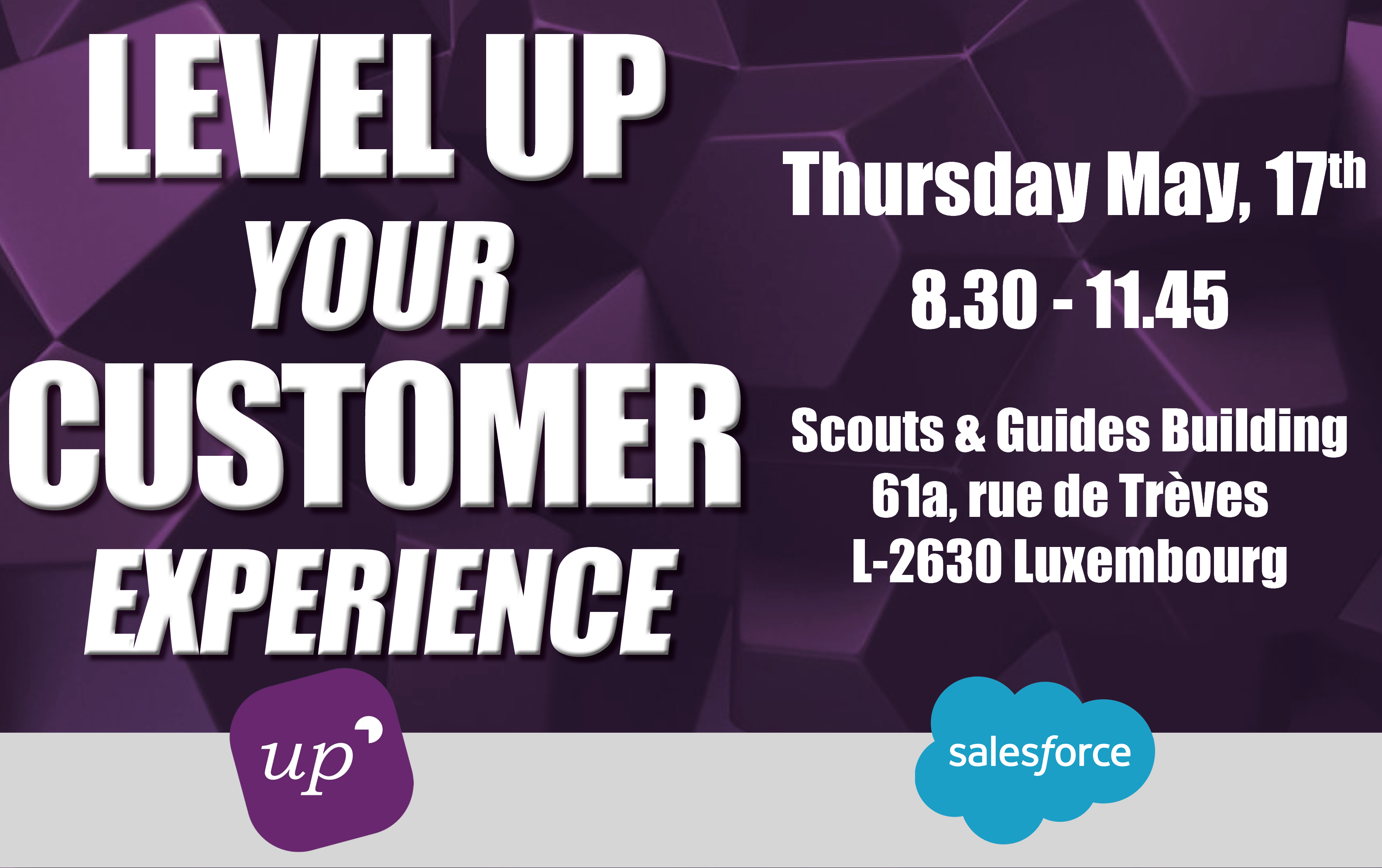 UpCRM & Salesforce Event May, 17th