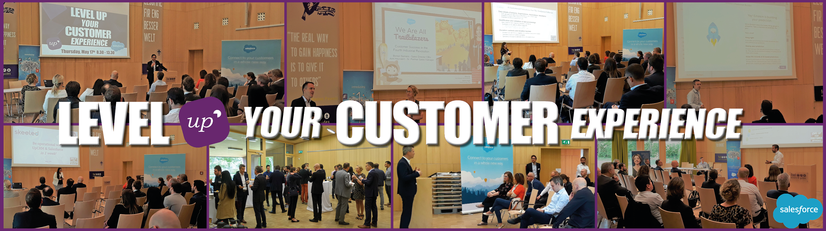 Level Up your Customer Experience with UpCRM & Salesforce