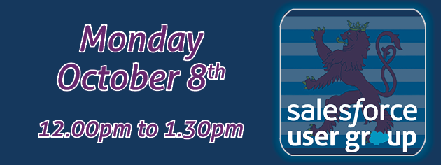 User Group Banner October 8th