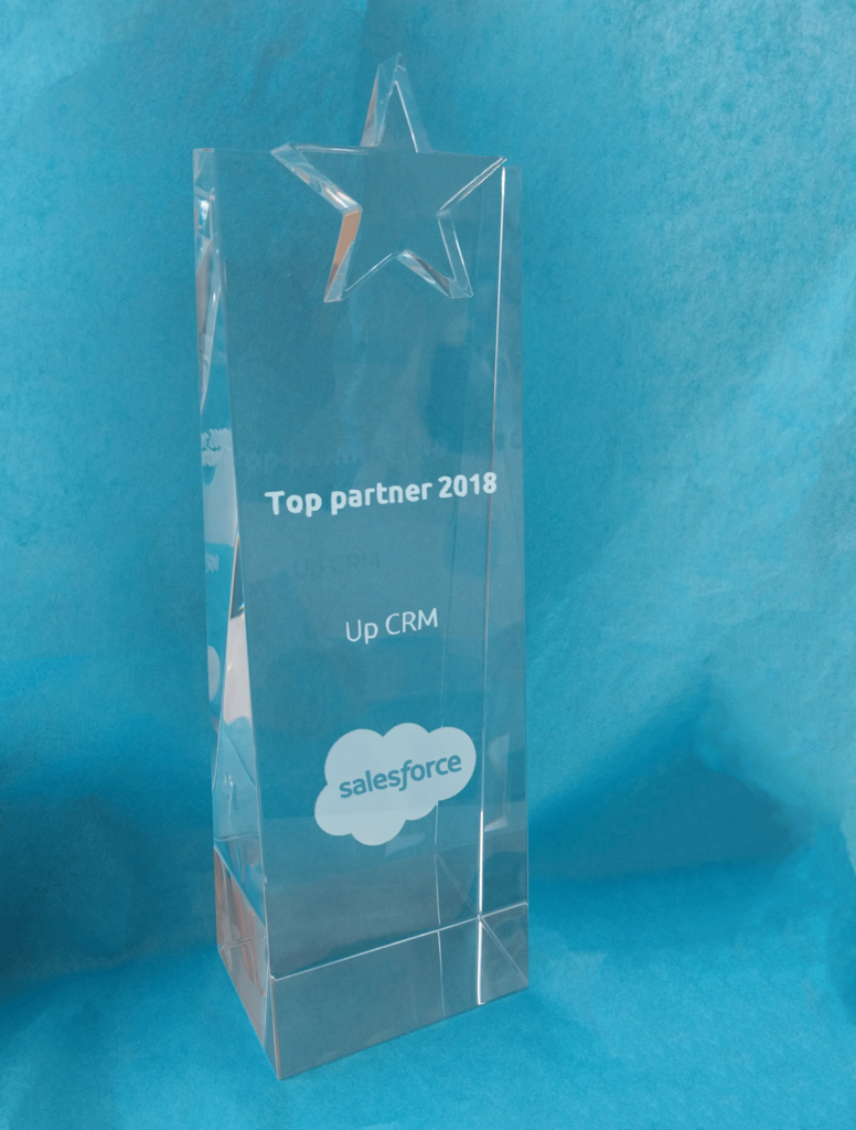 UpCRM Top Partner 2018 Salesforce Luxembourg