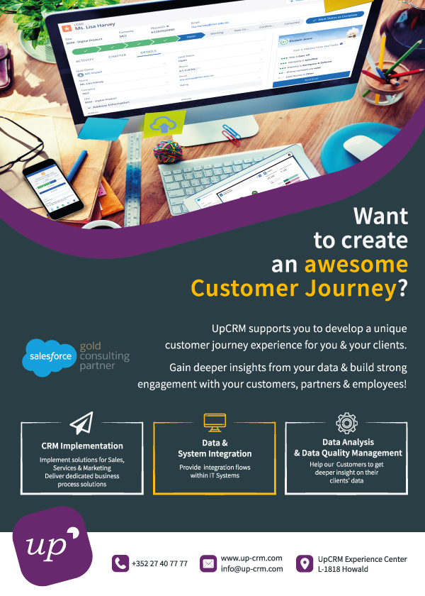 UpCRM helps you to create an awesome customer journey for your clients!