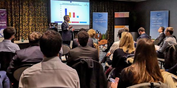 Laurent de La Vaissière Financial Services Event Up Consulting Luxembourg